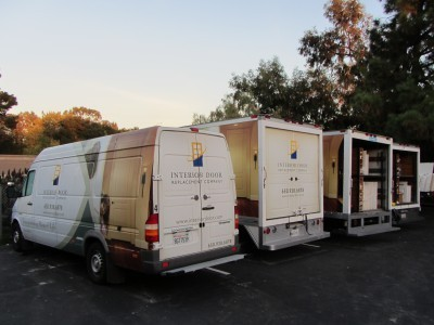 IDRC door delivery trucks