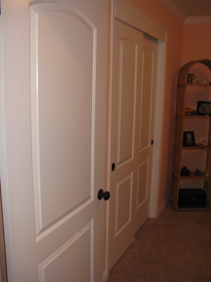 new closet door