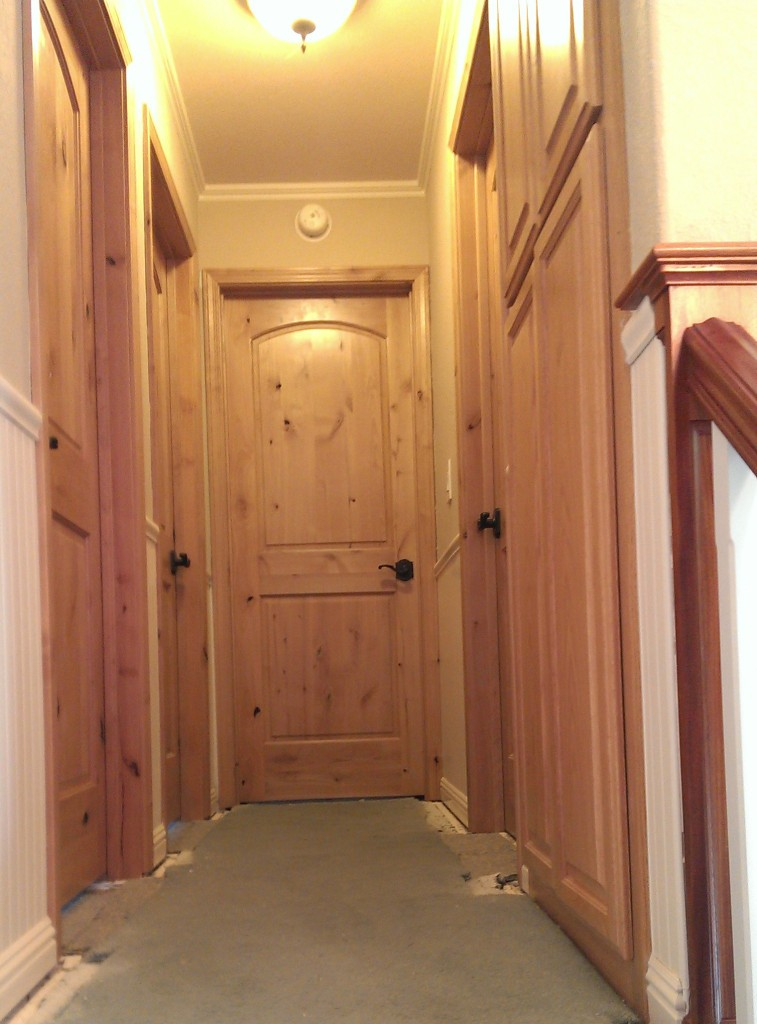 Knotty Alder Interior Door 3