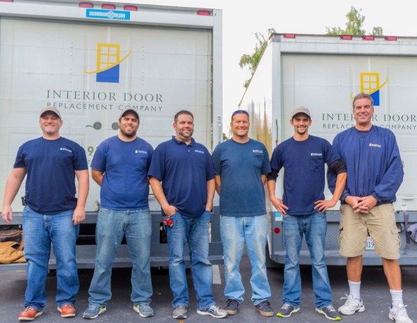 Install Team at Interior Door Replacement Company