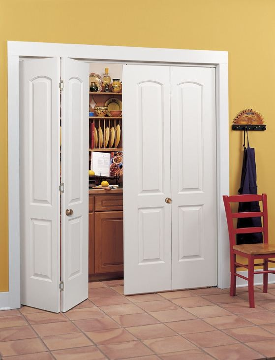 Bifold closet doors for Special order french doors