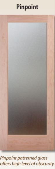 1-lite glass interior door