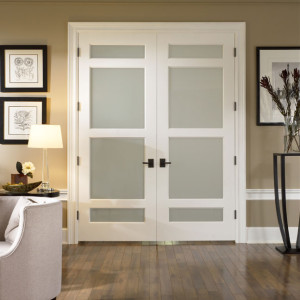 Trustile interior glass doors