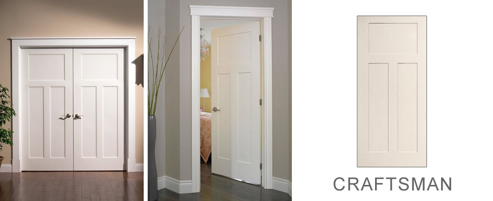 Craftsman Style Interior Doors Craftsman Style Custom Interior Paint Grade Wood Door Custom