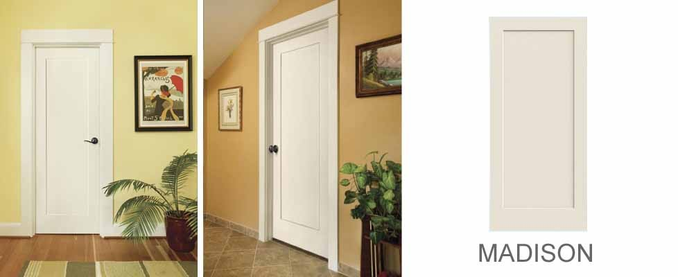 Madison molded interior door