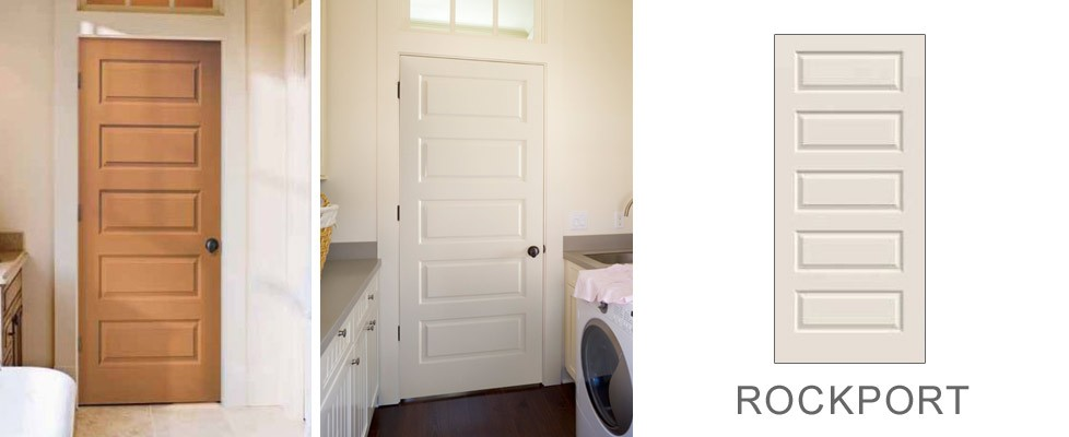 Rockport molded interior door